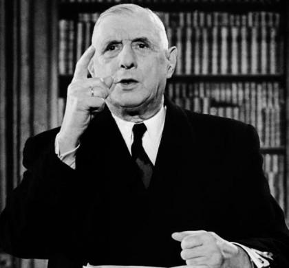 Antimétaboles de notre général Charles de Gaulle